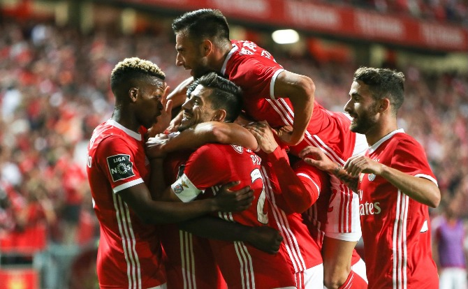 Blog Benfica Festejos do golo