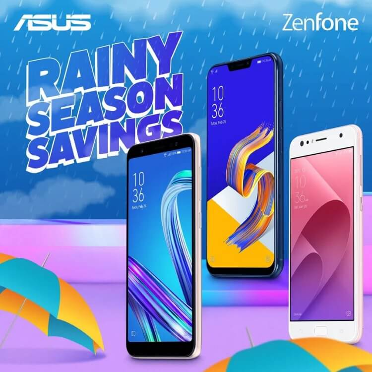 Score New Zenfone with ASUS Rainy Season Savings Promo