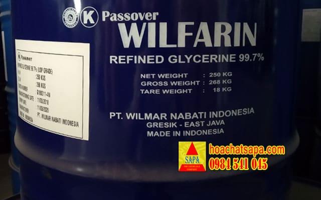 WILFARIN Glycerine tiêu chuẩn dược