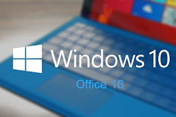 Get Download and Install Operating System Windows 10 Include Office 2016 for PC Laptop