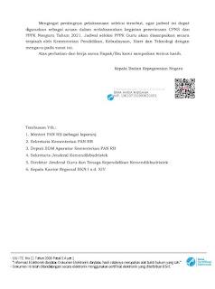 Jadwal Resmi CPNS 2021 Langsung Dari Pihak BKN