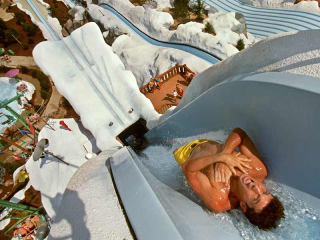 Summit Plummet no Blizzard Beach em Orlando