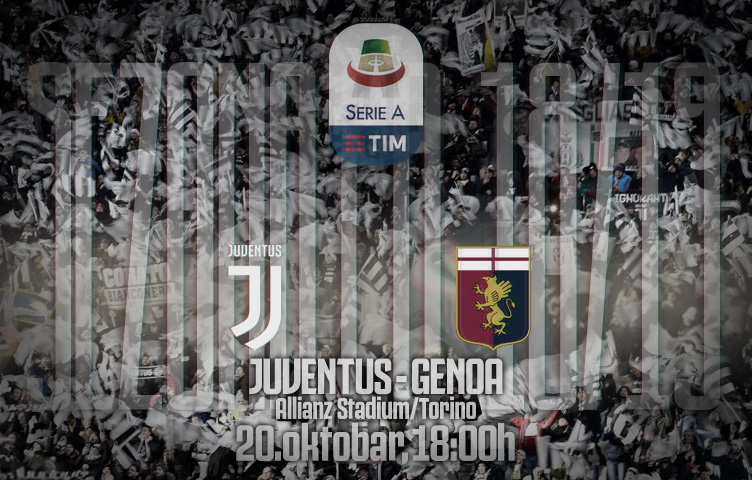 Serie A 2018/19 / 9. kolo / Juventus - Genoa, subota, 18:00h