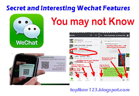 Secret and Interesting Wechat Features You may not Know