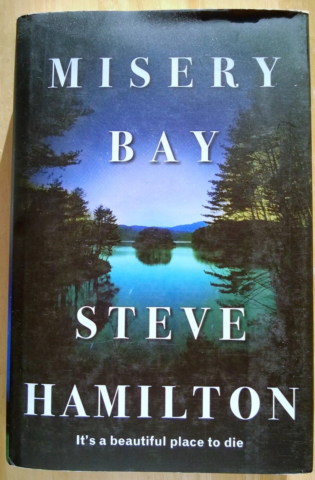 Arde Arvioi Steve Hamilton Misery Bay border=