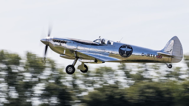Air101: Silver Spitfire embarks on worldwide flight