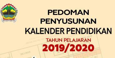 DOWNLOAD PEDOMAN PENYUSUNAN KALENDER PENDIDIKAN TAHUN PELAJARAN 2019/2020