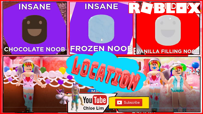 Roblox Find the Noobs 2 Gameplay! Candy World! All 45 Noobs Locations!