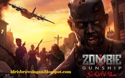 Cara Bermain Zombie Gunship Survival