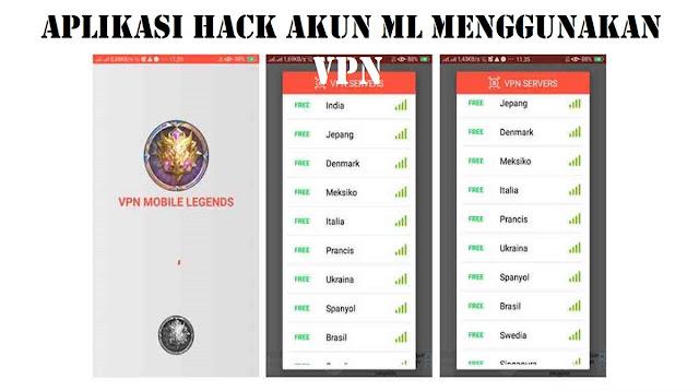 Aplikasi Hack akun ML