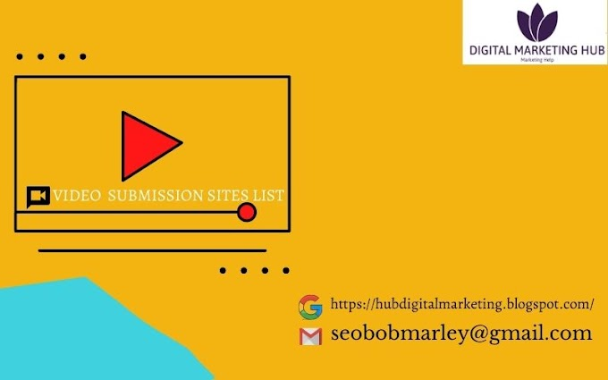 Video Submission Site List | Free Video Sharing Site List