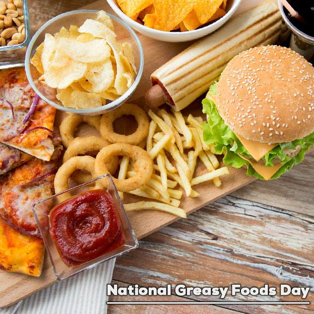 National Greasy Foods Day Wishes pics free download