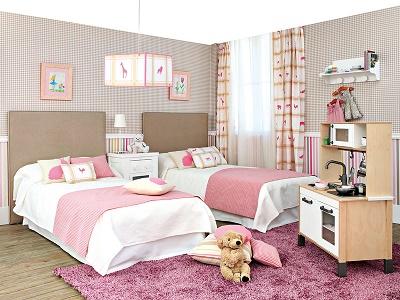 Fotos de dormitorios juveniles para dos chicas modernas for Dormitorios juveniles para dos
