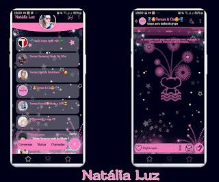 Night Theme For YOWhatsApp & Fouad WhatsApp By Natalia Luz