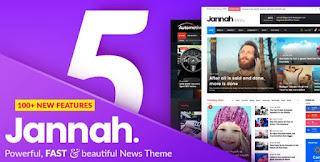 Jannah 5.0.5 Nulled –wordpress Newspaper Magazine News BuddyPress AMP