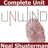 UNWIND Unit Teaching Package (by Neal Shusterman)  A fantastic teaching unit for Neal Shusterman's young adult novel UNWIND. 165+ pages of activities that are sure to engage middle school or high school English students. Pre-Reading, Plot, Conflict, Characters, Organ Memory Videos, Writing Journals, Pop Quizzes, Vocabulary, Essay