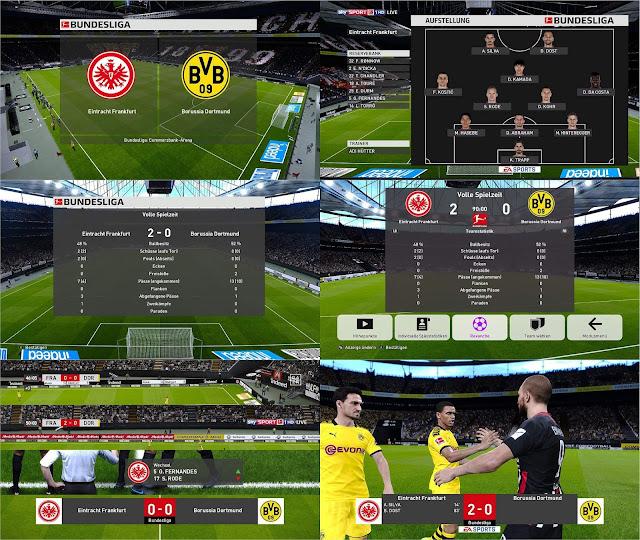 PES 2020 Bundesliga Scoreboard by 1002MB