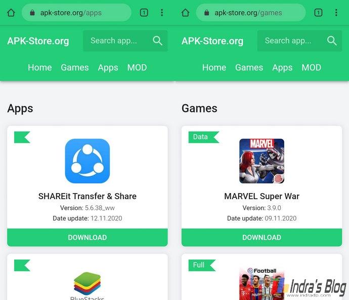 5 Situs Terbaik Dan Aman Untuk Download Apk Android Indra S Blog
