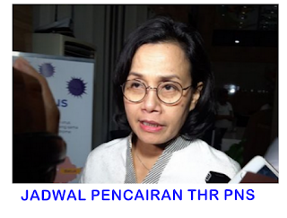 JADWAL PENCAIRAN THR pns TAHUN 2020