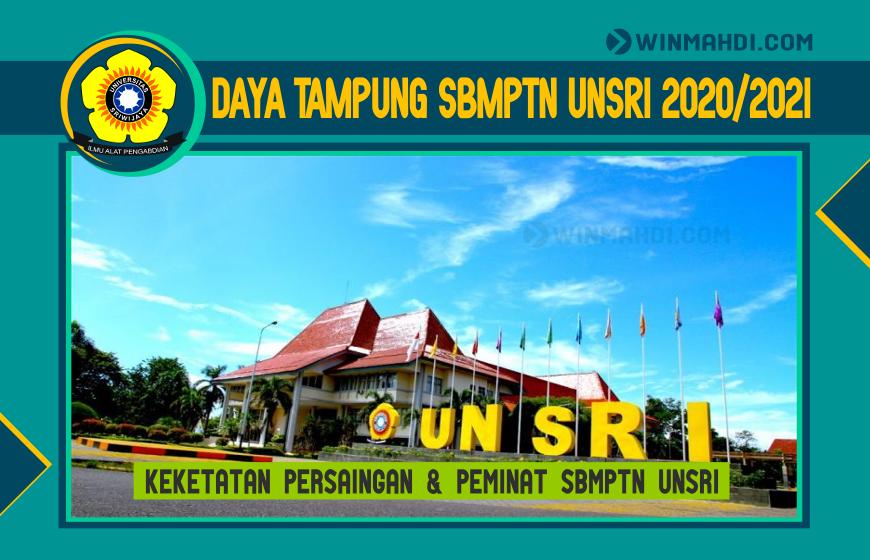 DAYA TAMPUNG SBMPTN UNSRI 2020-2021