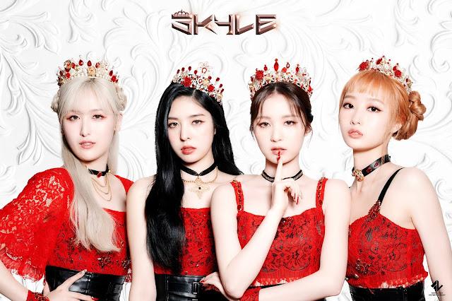 SKYLE 스카이리, el nuevo grupo de k-pop de Goodluck
