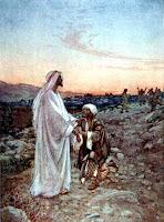 He heals a leper - Clipart.christiansunite.com