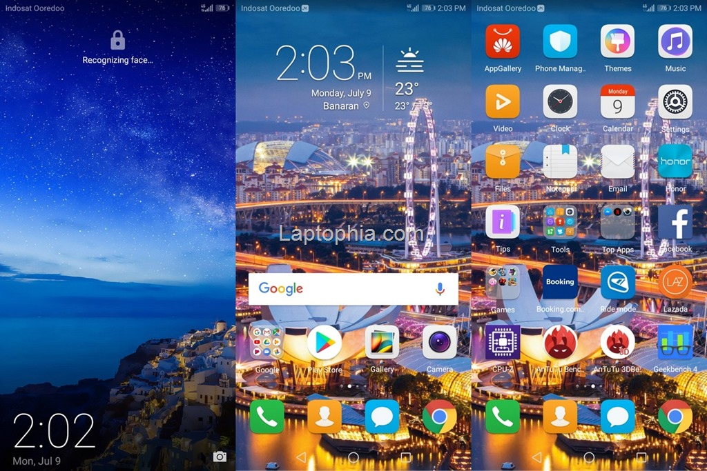 Software & Fitur Honor 7A