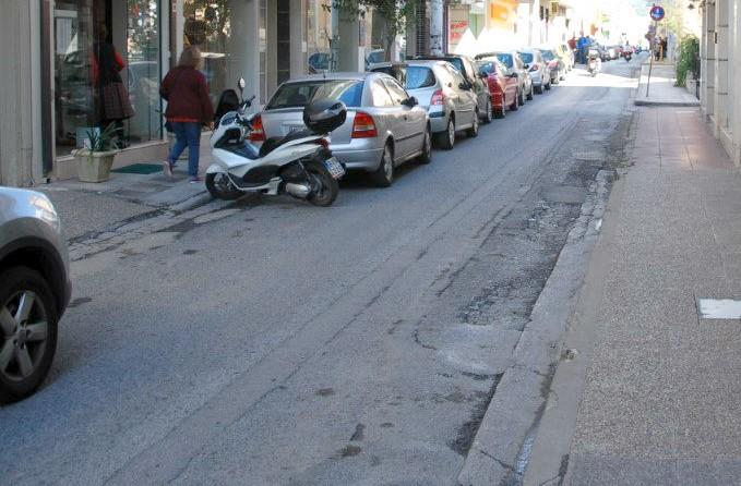 Εκτός κυκλοφορίας  η οδός Αναγνωσταρά στην Καλαμάτα