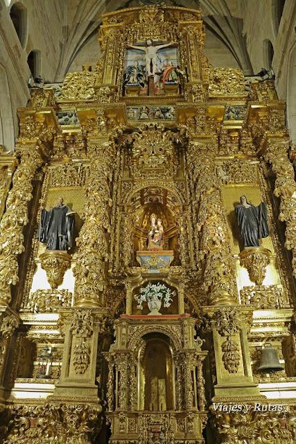 Retablo del Monasterio de Santa María la real de Nájera. La Rioja