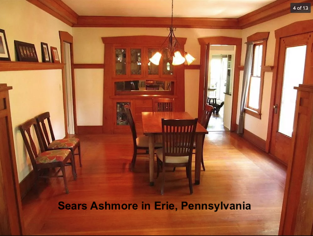 Erie PA Sears Ashmore dining room