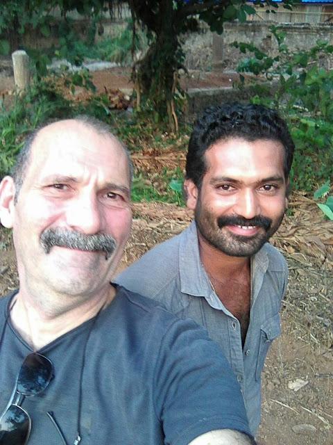 selfie temple de Vadakkunnathan à Thrissur