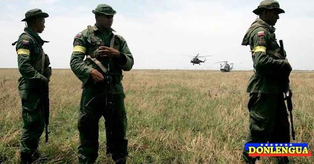 Apure es zona FARC y los militares huyen despavoridos antes de ser asesinados