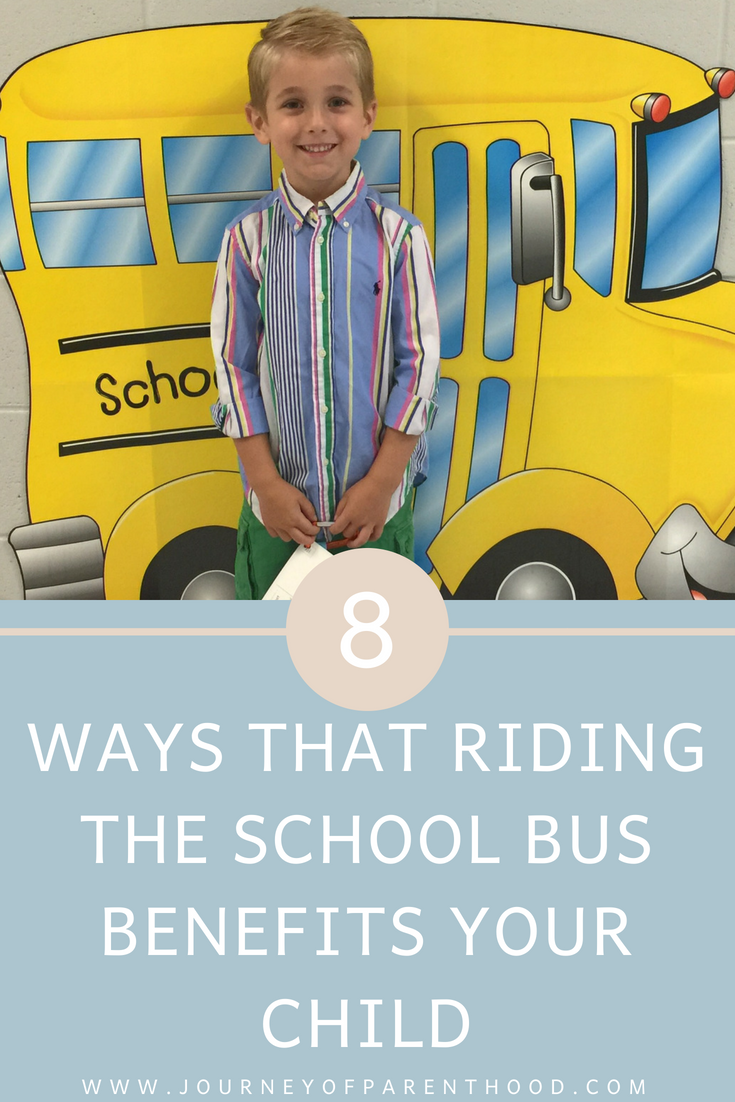 benefits of riding the school bus