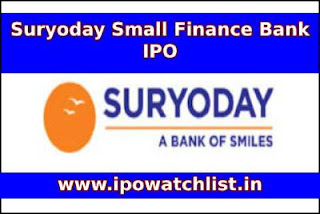 Suryoday Small Finance Bank IPO GMP