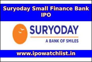 Suryoday Bank IPO Subscription Status
