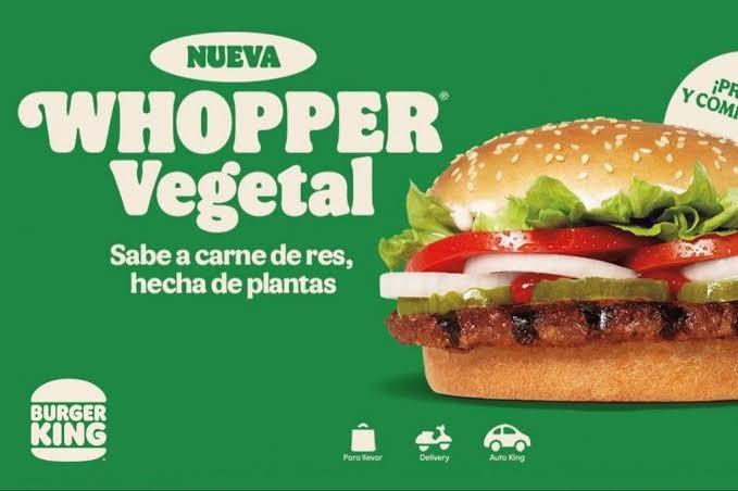 El primer Burger King vegetariano en el mundo abre por primera vez sus puertas en Alemania