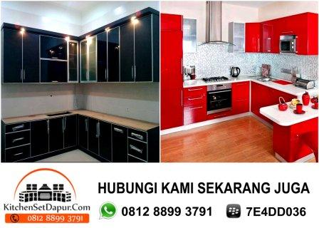 Jasa pembuatan kitchen set ciputat hub 0812 8899 3791 bb for Harga granit kitchen set per meter