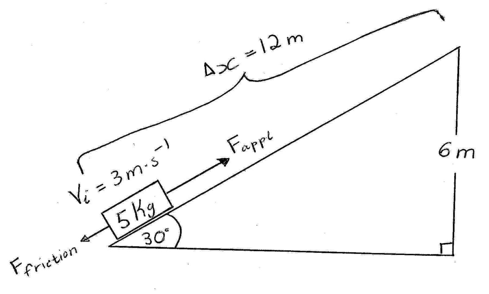 physics mentor work energy power inclined plane physics problem 1