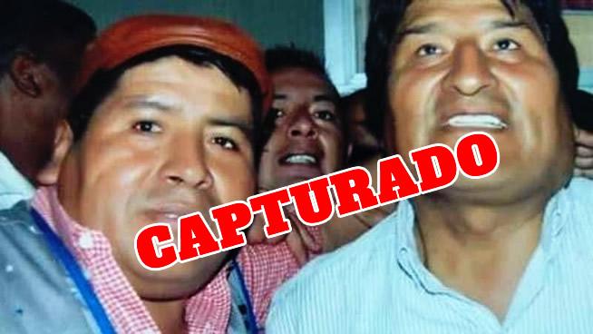 VIDEO: Cae Faustino Yucra, acusado de recibir instrucción de Evo para cercar ciudades