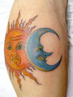 moon and sun tattoo meaning