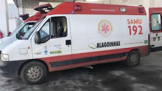 Homem é preso após roubar ambulância