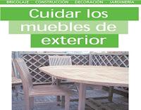 cuidar los muebles de exterior