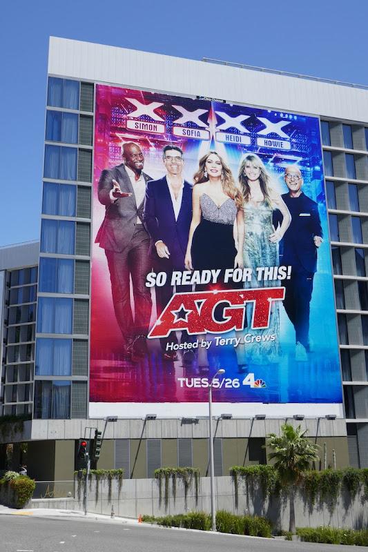 Americas Got Talent season 15 billboard