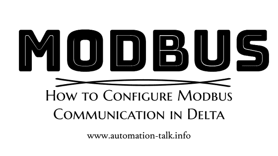 How to Configure Modbus Communication in Delta PLC