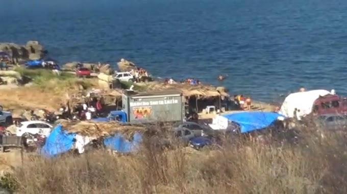 Festa com paredões leva perturbação e lixo à barragem Boqueirão