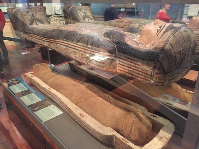 Ancient Egypt in Kelvingrove Art Gallery & Museum, Glasgow, Scotland