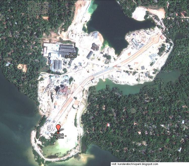Ashtamudi Lake: Technopark @ Kundara: Official Details About Technopark Kollam