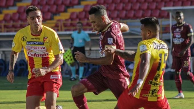 Confirmada la programación de la 'ida' de la semifinal de la Copa BetPlay 2021: DEPORTES TOLIMA recibirá al Pereira