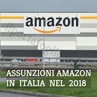 amazon assume in italia nel 2018