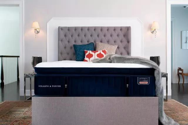 Amerika'nın lüks yatak markalarından Stearns and Foster, 1846'dan beri yatak üretimi yapıyor.